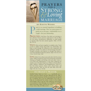 Prayers for a Strong and Loving Marriage 50-pack - Cards