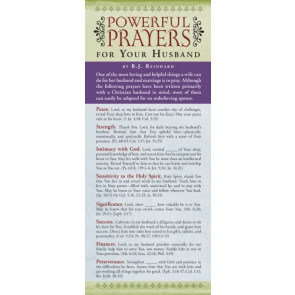 Powerful Prayers for Your Husband 50-pack - Cards