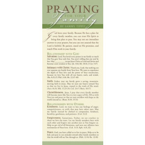 Praying for Your Family 50-pack - Cards