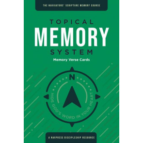 Topical Memory System, Memory Verse Cards - Softcover