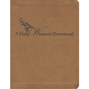 A Daily Women's Devotional - Leather-Look