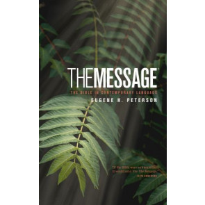 The Message Personal Size (Hardcover) - Hardcover With printed dust jacket
