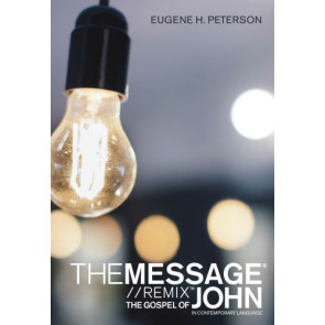 The Message Gospel of John in Contemporary Language (Softcover) - Softcover / softback
