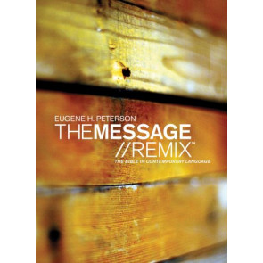 The Message//REMIX (Softcover, Wood) - Softcover Wood