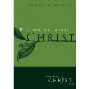 Beginning with Christ - Pamphlet
