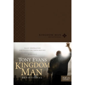Kingdom Man Devotional - LeatherLike