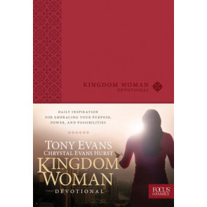 Kingdom Woman Devotional - LeatherLike