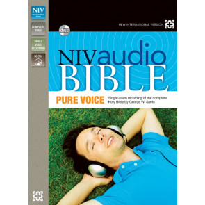 NIV, Audio Bible, Pure Voice, Audio CD - CD-Audio