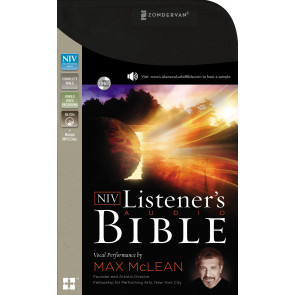 NIV, Listener's Audio Bible, Audio CD - CD-Audio