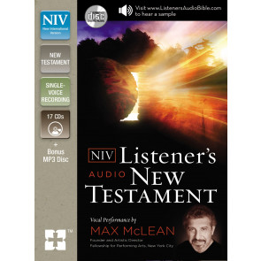 NIV, Listener's Audio Bible, New Testament, Audio CD - CD-Audio