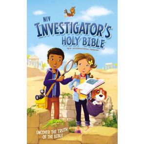 NIV Investigator's Holy Bible, Hardcover - Hardcover