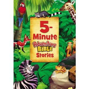5-Minute Adventure Bible Stories - Hardcover