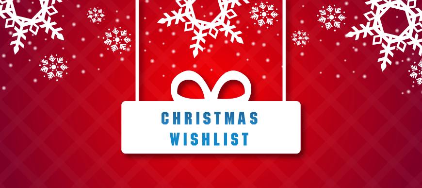 Christmas Wish List!